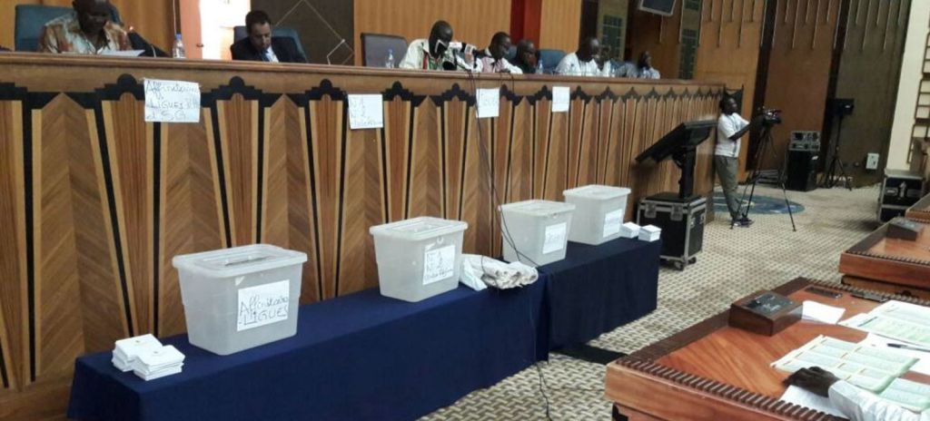FSF : Me Augustin Senghor réélu président à 3 heures du matin