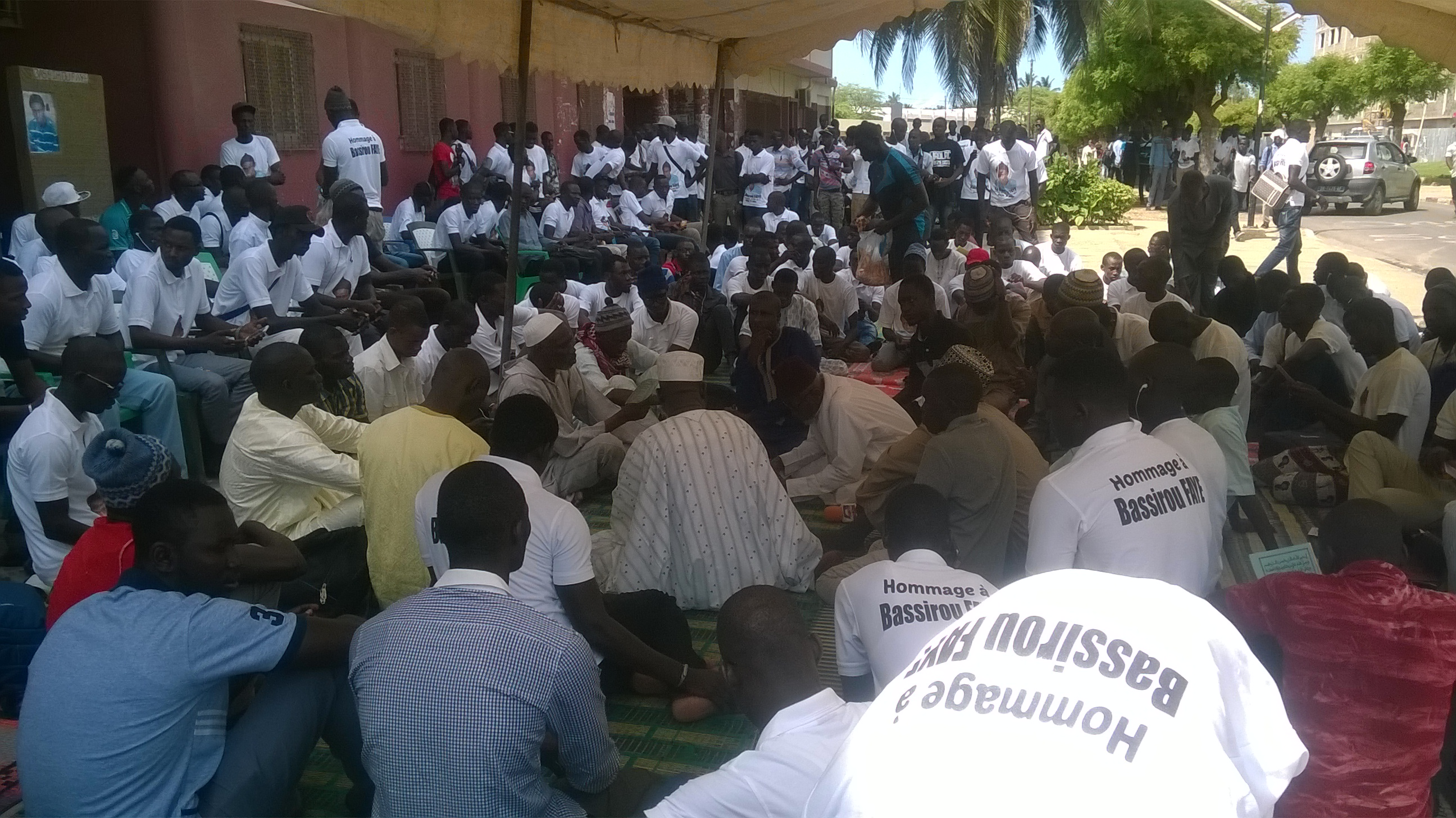3e annievrsaire de la mort de Bassirou Faye: Les étudiants entre prières et dénonciations
