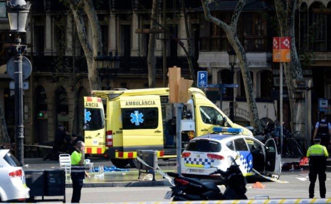 Attaque terroriste à Barcelone : La Cadena Ser parle de 13 morts