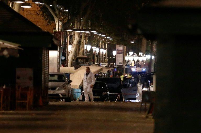Attentat de Barcelone: le conducteur en fuite, un Marocain et un Espagnol arrêtés