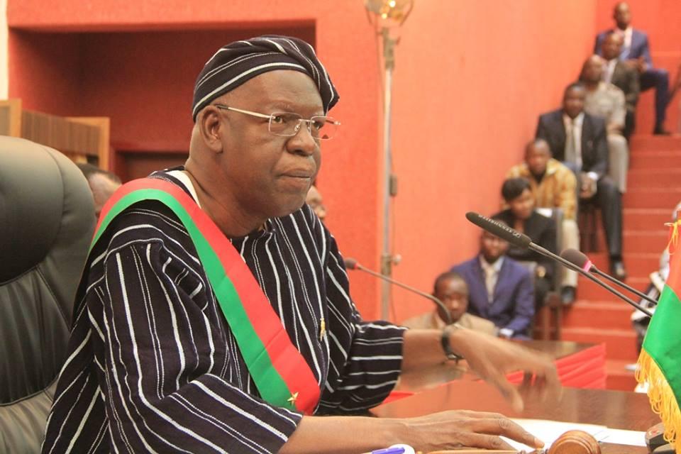 Urgent - Décès du président de l'Assemblée nationale du Burkina Faso