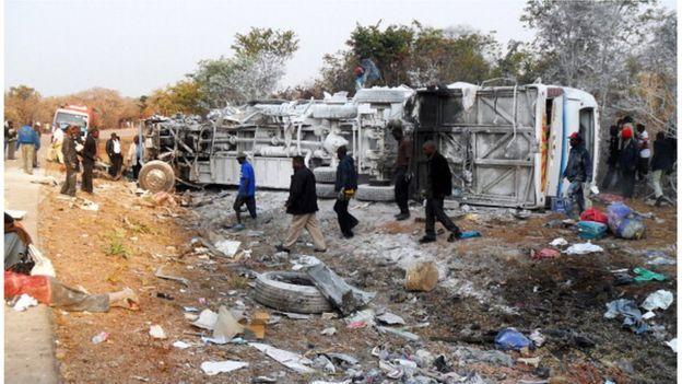 Cameroun: 20 morts dans un accident