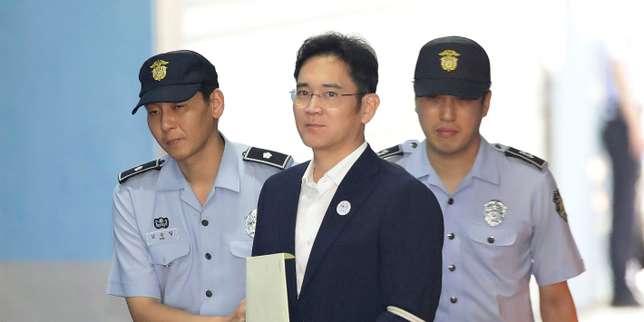 Lee Jae-yong, héritier de l'empire Samsung, condamné à cinq ans de prison