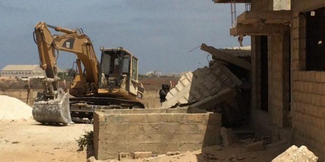 Kaolack – Les bulldozers d'Ahmet Khalifa Niass démolissent des habitations