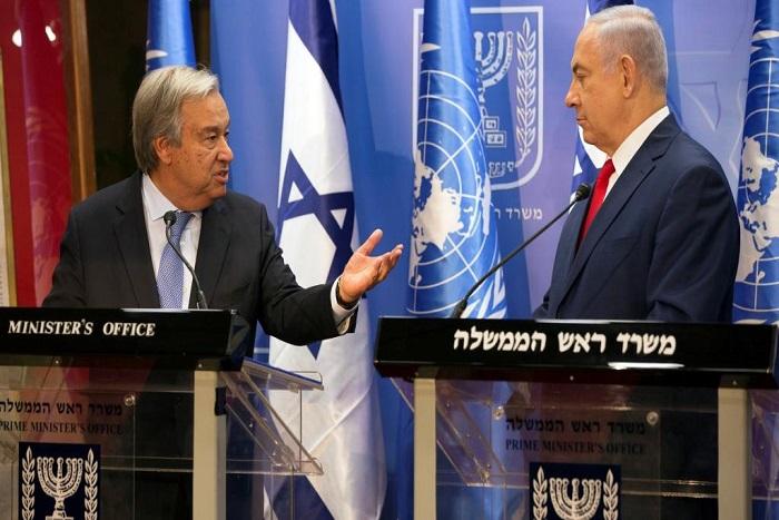 Processus de paix israélo-palestinien: mission impossible pour Antonio Guterres
