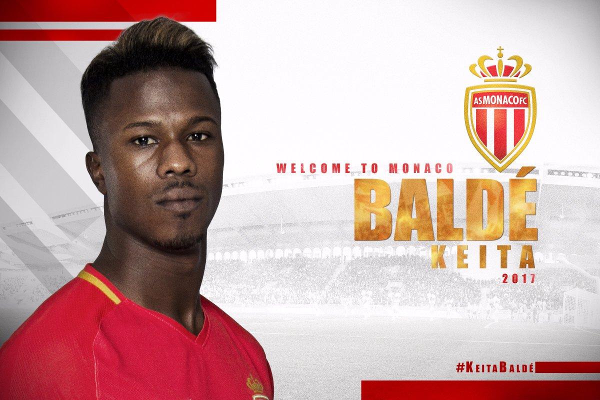 Officiel ! Baldé Diao Keita s'engage avec l'As Monaco pour 5 ans