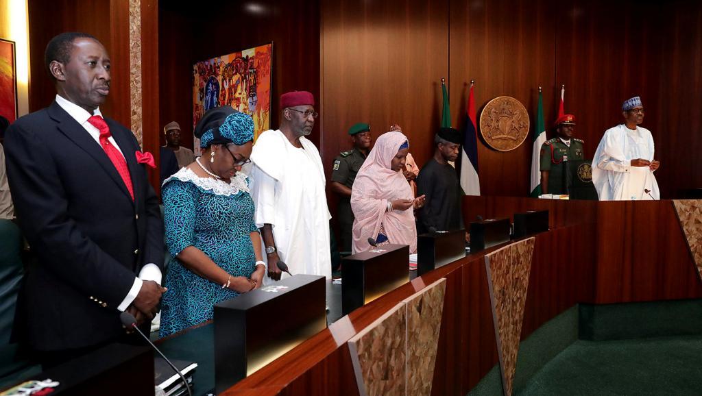 Nigeria: premier Conseil des ministres pour le président Buhari depuis 5 mois
