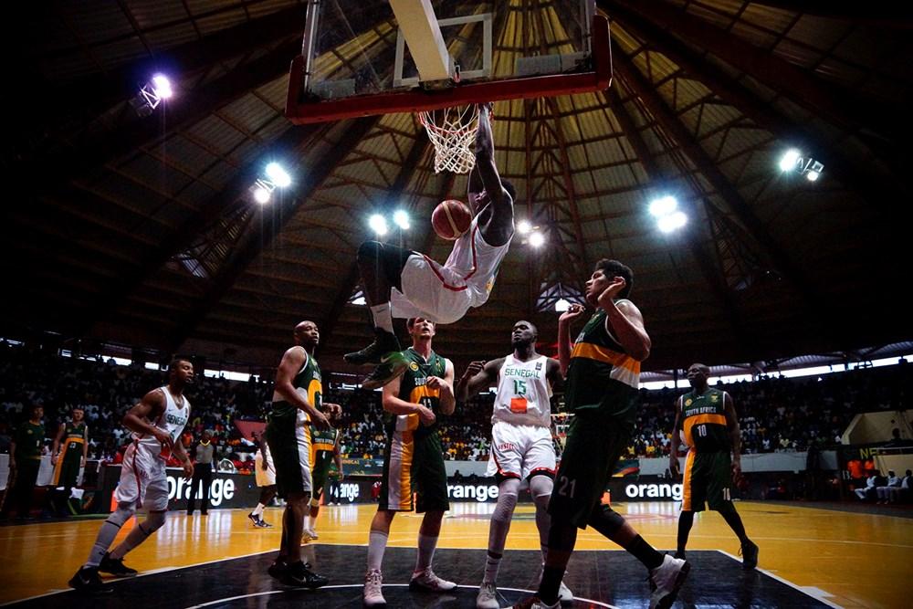Afrobasket – Poule D: Sénégal 83 – 44 Afrique du Sud, fin