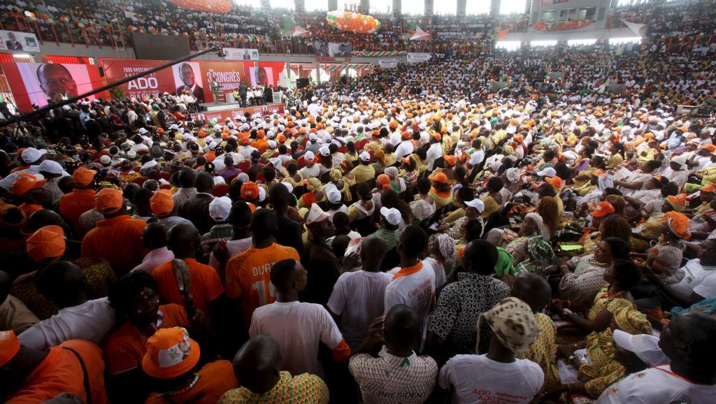 Côte d'Ivoire: le RDR se réunit en congrès pour élire son président