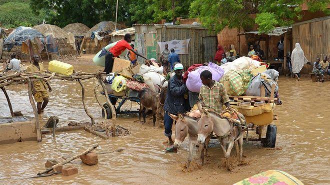 Niger: risque d'inondations au Bénin et au Nigeria