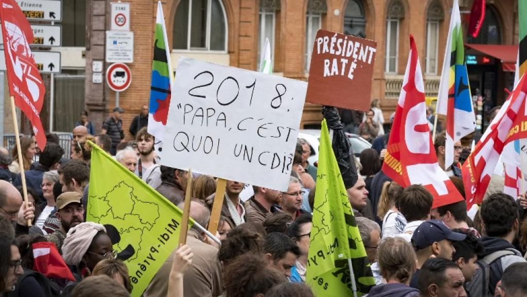 En France, les opposants à la réforme du Code du travail se mobilisent