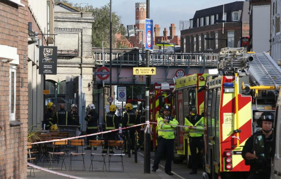 Attentat de Londres: Plusieurs blessés, indique la police...
