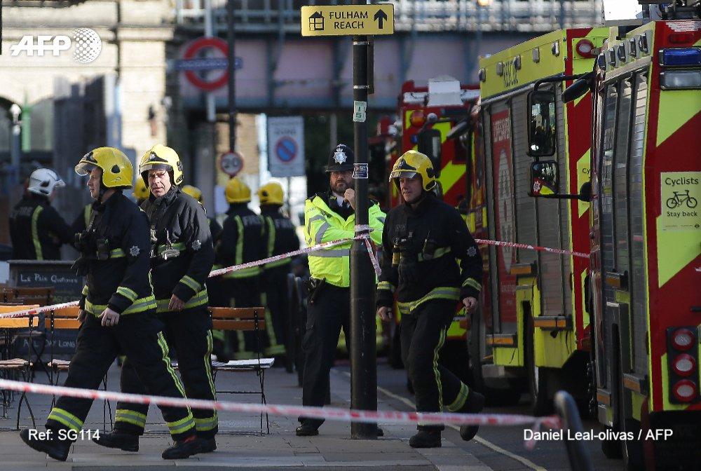 Attentat dans le métro de Londres : Un bilan provisoire de 18 personnes...