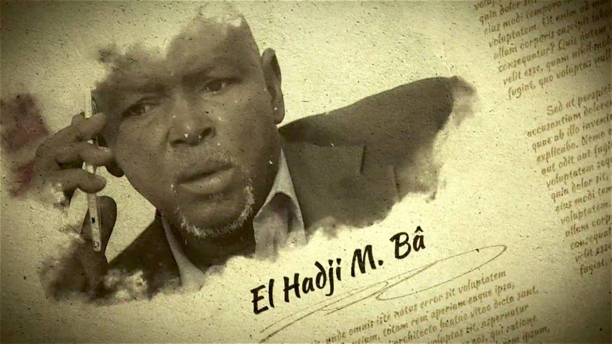 """Décès du comédien El Haj Ba : Le """"ministre Maal"""" de la série """"Idoles"""" n'est plus"""