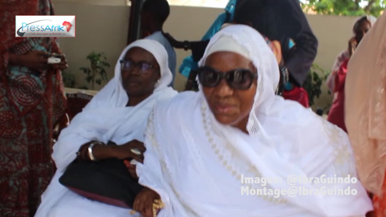 L'épouse de Djibo Ka stoïque devant la douleur reçoit les condoléances (Vidéo)