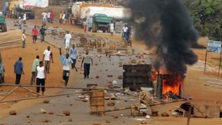 Guinée: manifestations à Boké