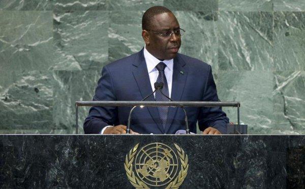 """Macky Sall à la tribune de l'Assemblée générale de l'ONU : """"Le taux de CMU est passé de 20 à 47% en 3 ans"""""""