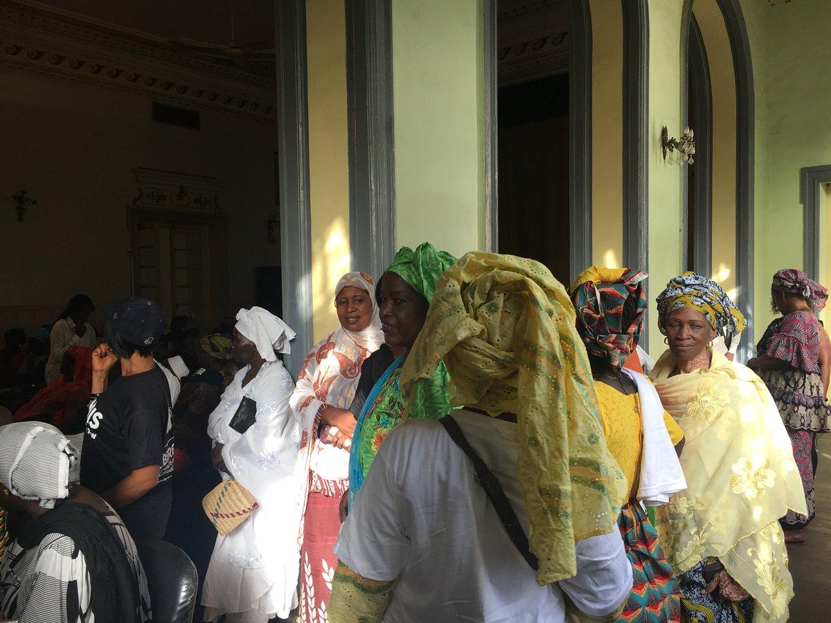Grand rassemblement: des Dakarois exigent la libération de leur maire, Khalifa Sall