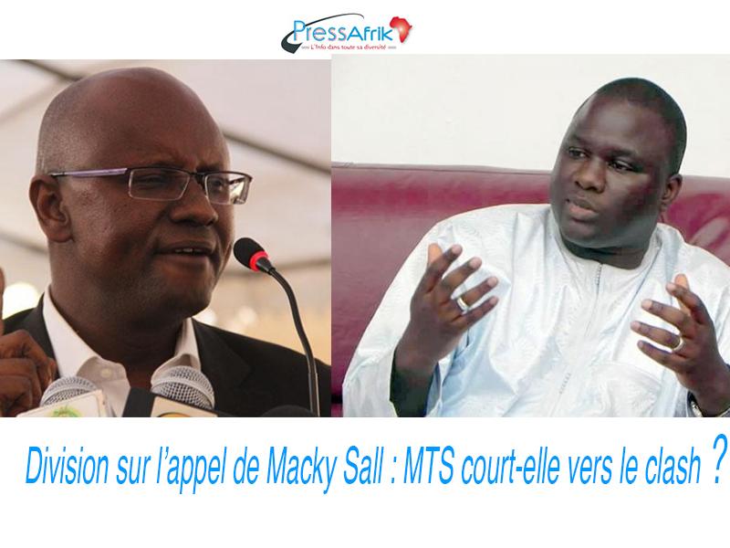 Division sur l'appel de Macky Sall: MTS court-elle vers le clash ?