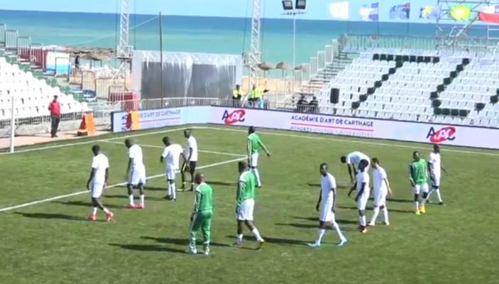 L'équipe nationale du Sénégal de mini-foot en 8es de finale de la Coupe du monde