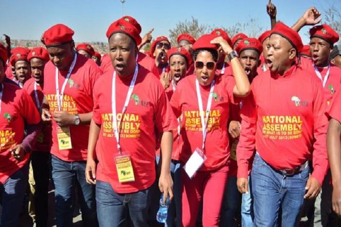 Af Sud : Thomas Sankara inspire Julius Malema
