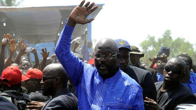 Libéria : George Weah en tête des résultats partiels