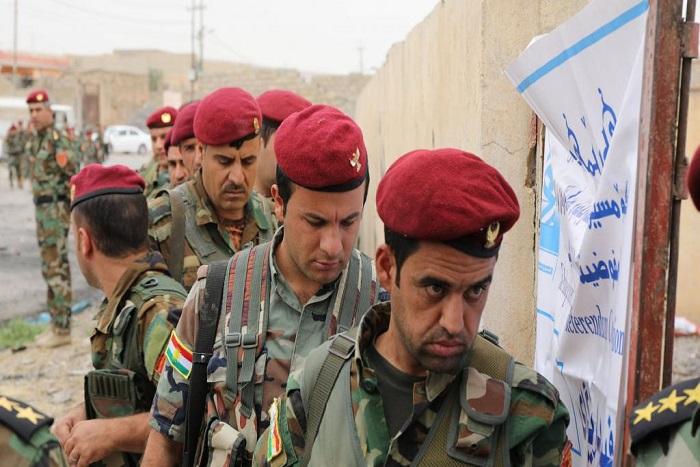 Irak: l'armée à l'offensive près de Kirkouk, les Kurdes «prêts à se défendre»