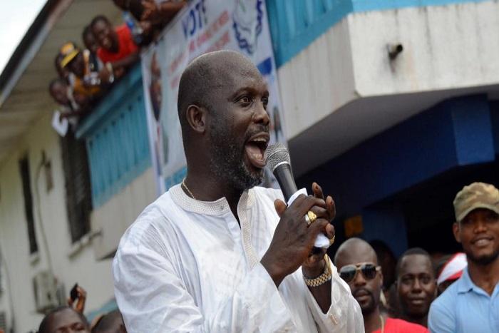 Présidentielle au Liberia: Geoge Weah en tête selon des résultats partiels