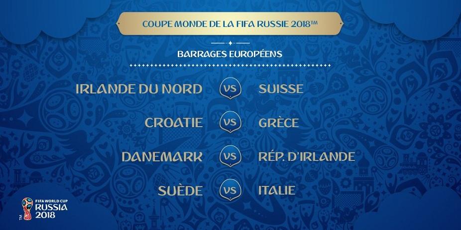 Tirage coupe du monde 2018 les affiches des barrages de - Tous les buts de la coupe du monde 2006 ...