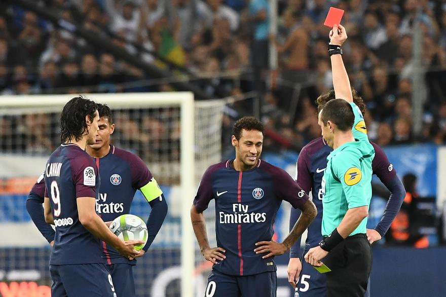 Ligue 1 : Neymar suspendu deux matchs dont un avec sursis