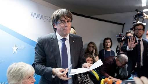 8 membres du gouvernement catalan destitués placés en détention