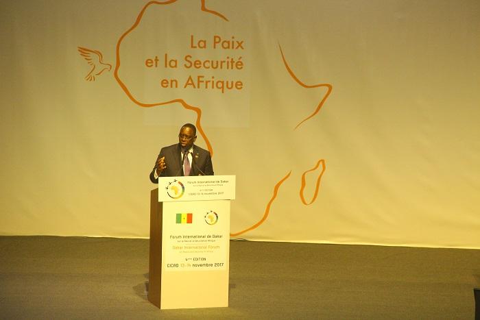 4e Forum pour la paix et la sécurité en Afrique : Macky Sall réitère son engagement aux côtés du Mali