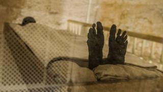 Egypte: découverte d'une momie gréco-romaine