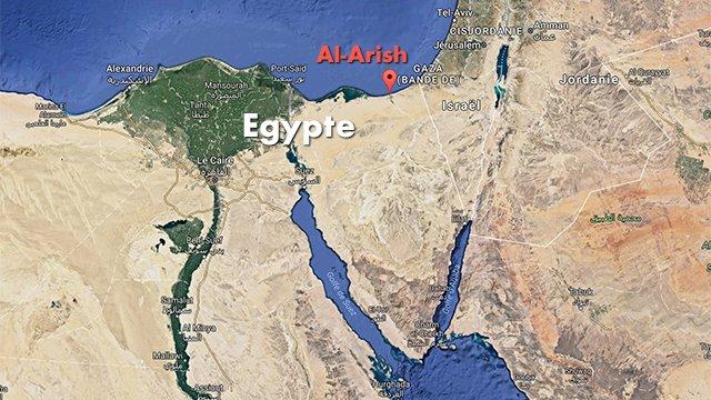 Egypte : Le bilan de l'attaque de la mosquée revue à la hausse et atteint 115 morts