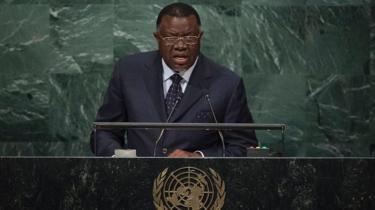 La Namibie n'a pas besoin du FMI, selon son président.