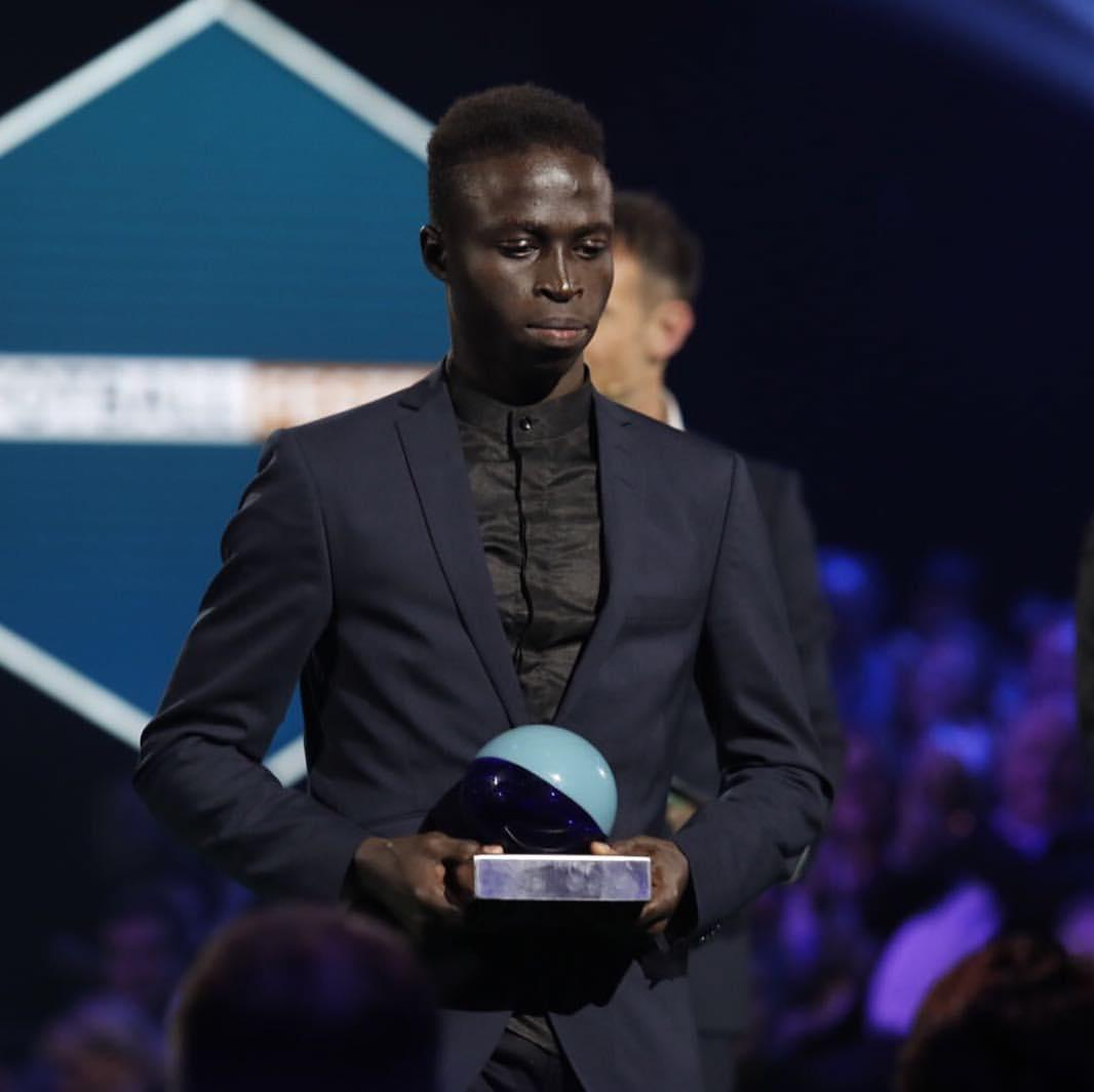 Krépin Diatta nommé meilleur jeune joueur du championnat norvégien