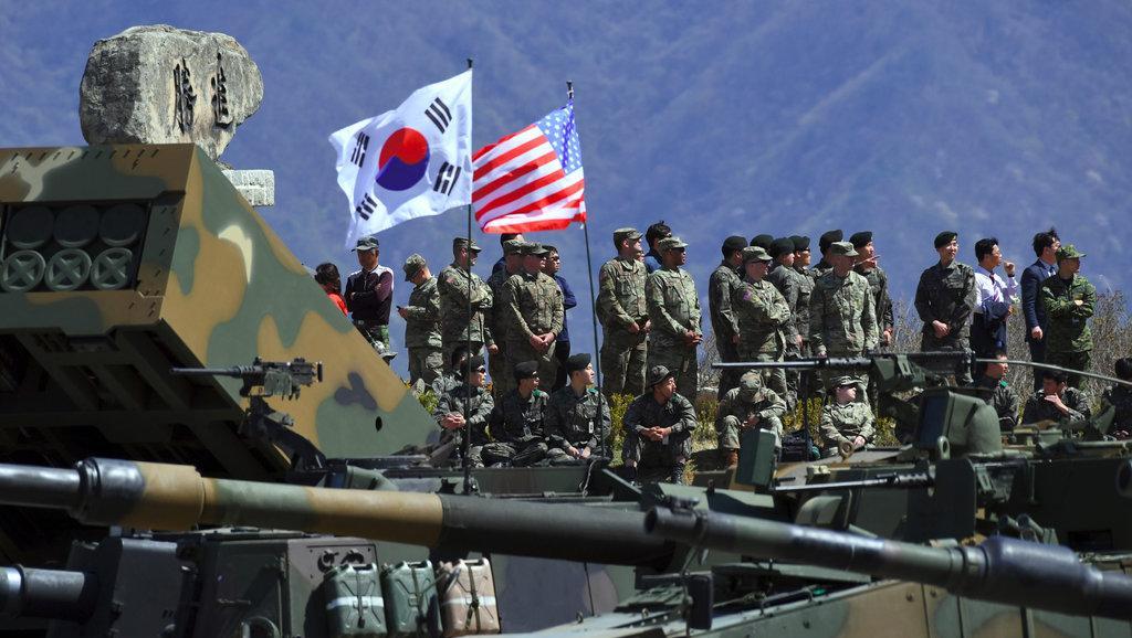  Corée du Sud: des exercices militaires aériens pour montrer les muscles