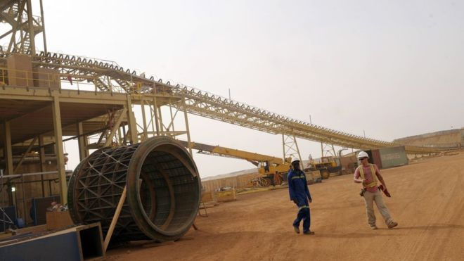 Burkina Faso : une nouvelle mine d'or inaugurée