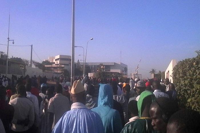 Jour J pour Khalifa Sall : le Tribunal pris d'assaut pas les partisans et les députés de l'opposition