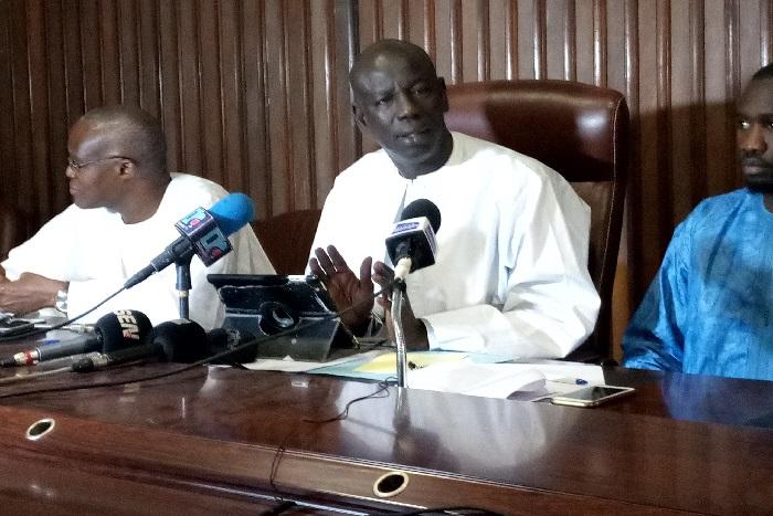 Abdoulaye Wilane-Khalifa Sall : «Si sa famille savait ce que nous lui souhaitons, elle ne nous insulterait pas»
