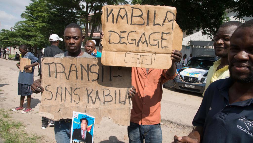 RDC: l'opposition manifeste, un an après la fin officielle du mandat de Kabila