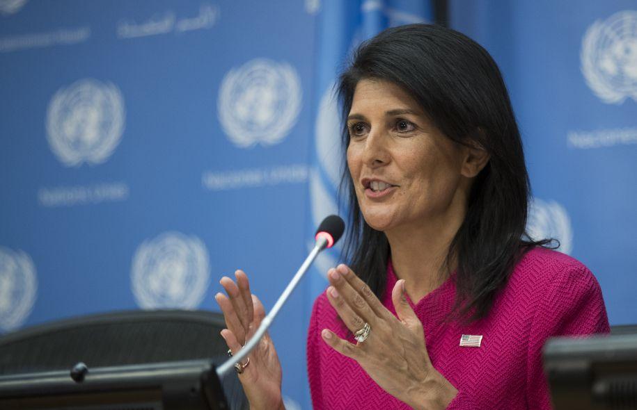"""Nikki Haley avertit : """"Les Etats-Unis vont implanter leur ambassade en Israël à Jérusalem que cela plaise à l'Onu ou non"""""""