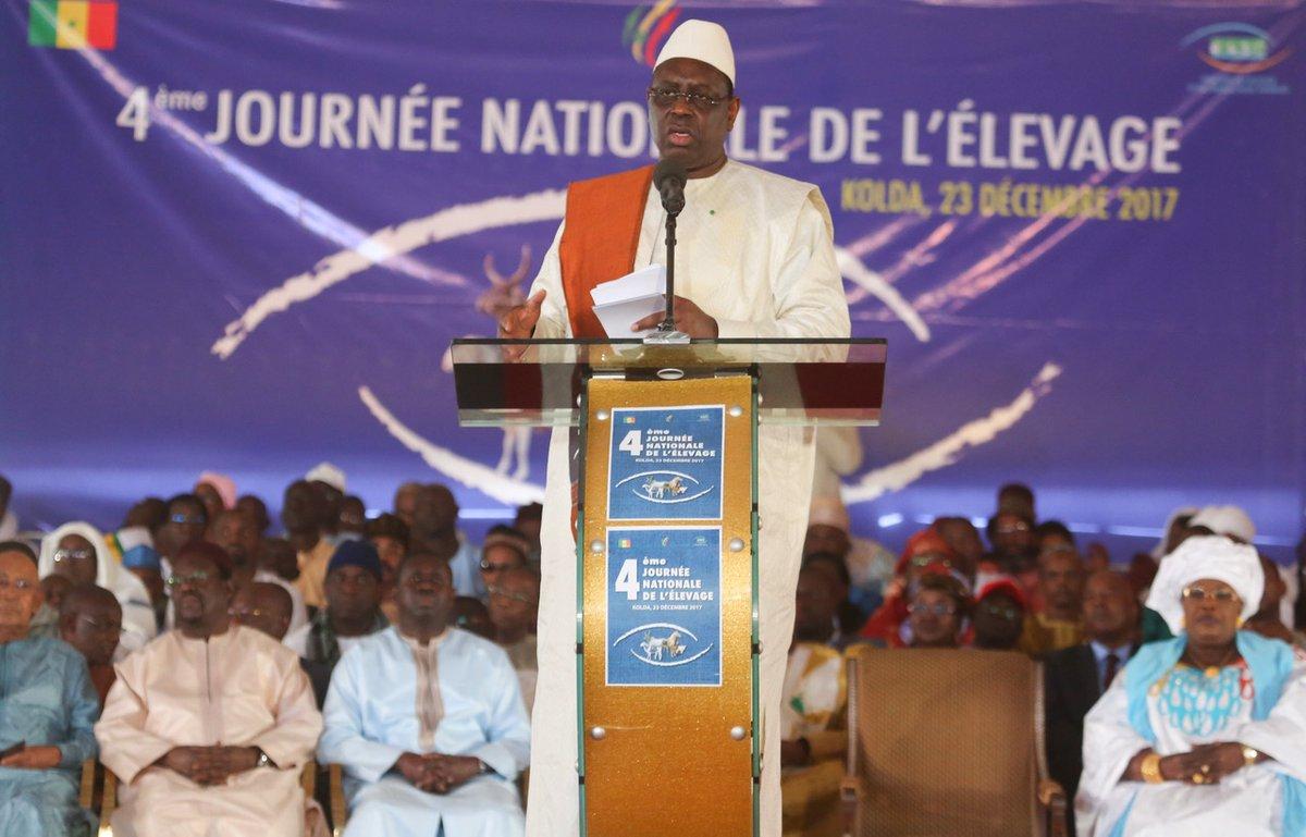 Kolda - Sécurisation du secteur, crédit et renforcement de la résilience éleveurs, ont rythmé le discours du chef de l'Etat