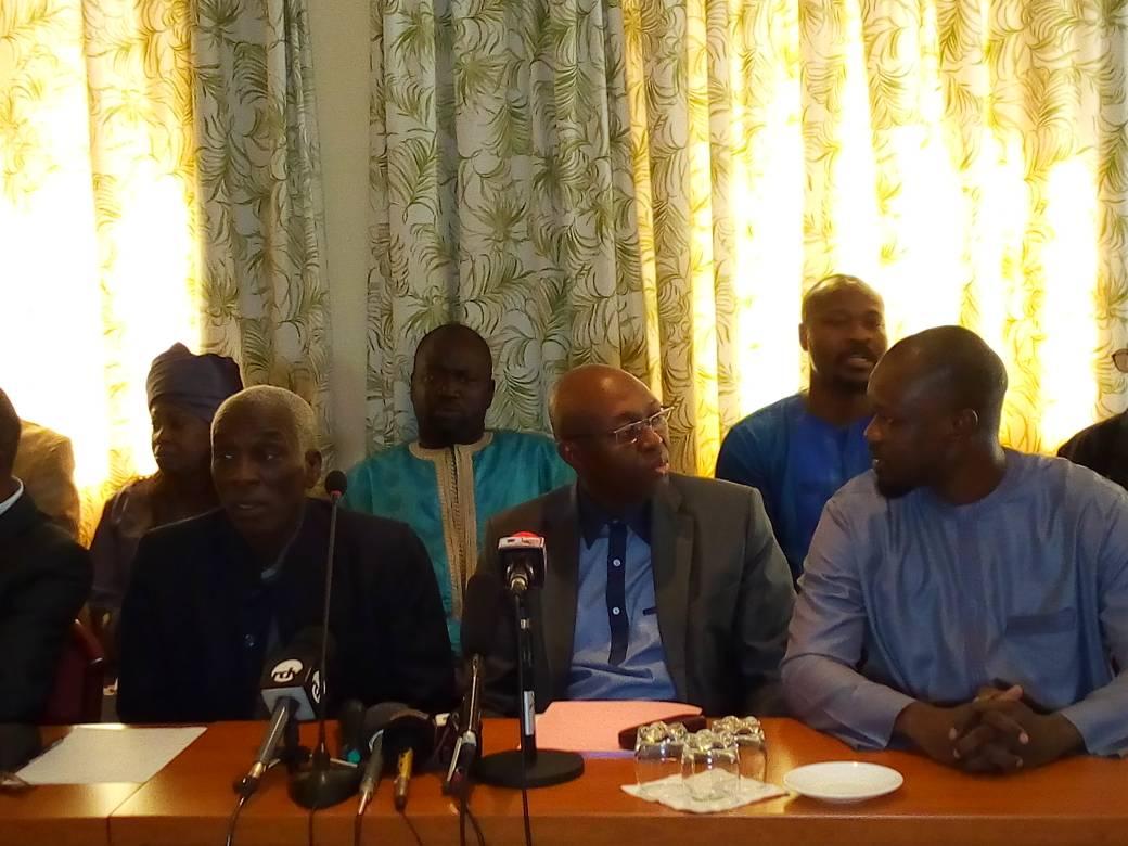 Dialogue politique: « Nous rejoindrons la table des discussions si ...», Dialo Diop