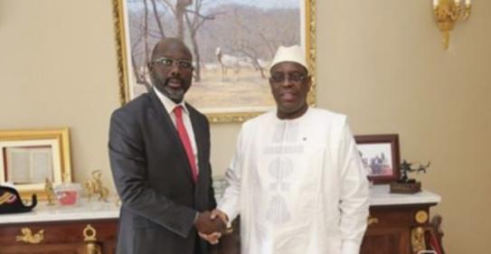 Twitter : Le Président Macky Sall a félicité Georges Weah