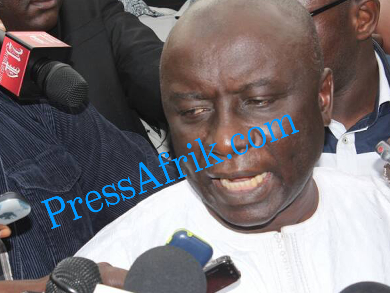 Idrissa Seck : «ce procès est celui du président de la République»