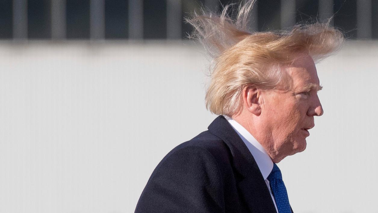 Le secret de la coiffure de Trump enfin révélé