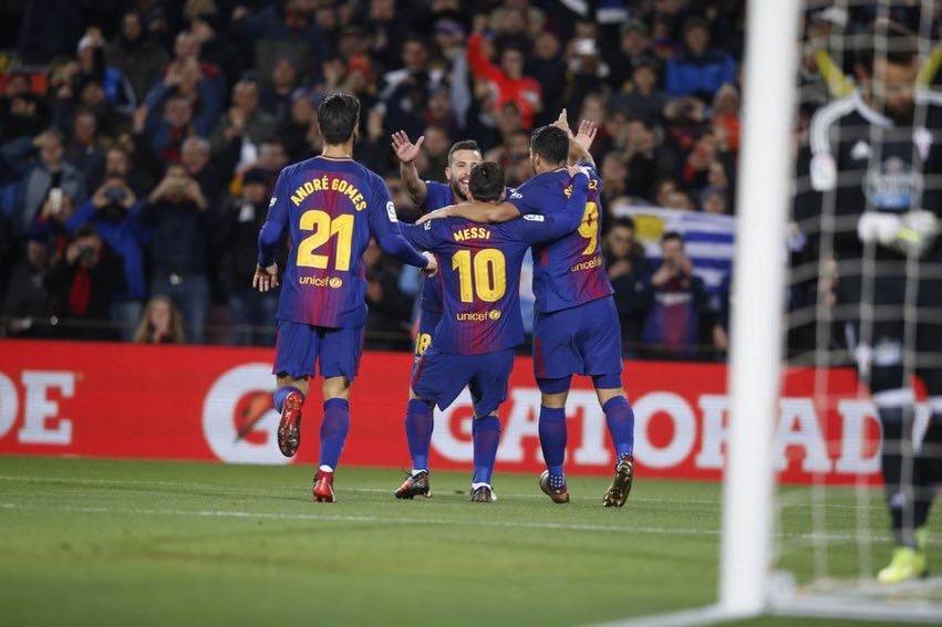 Coupe du Roi : Le Barça se qualifie en quart en étrillant 5 à 0 le Celta Vigo