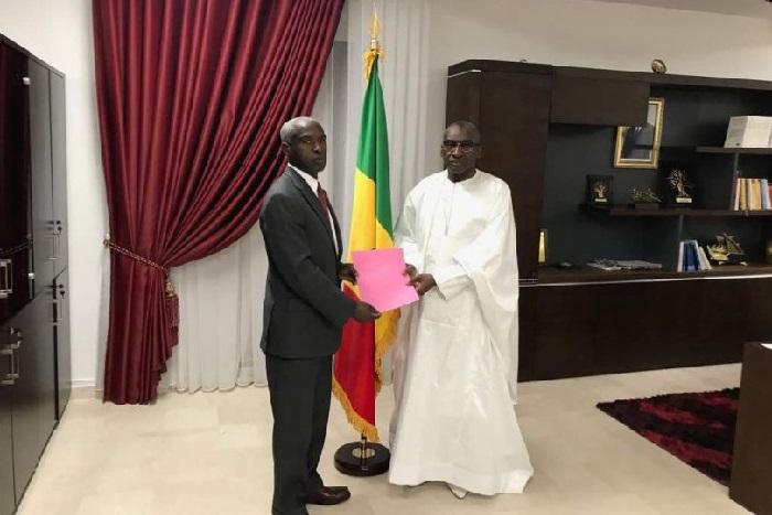Me Sidiki Kaba à l'ambassadeur américains : «ces propos sont de nature à compromettre la coexistence pacifique...»
