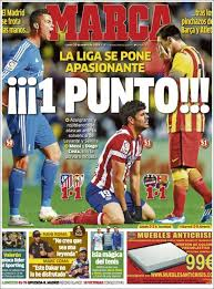 La Une des journaux sportifs en Espagne du 13 janvier 2018